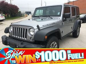 2014 Jeep Wrangler Unlimited Rubicon | BLUETOOTH | REM START | A