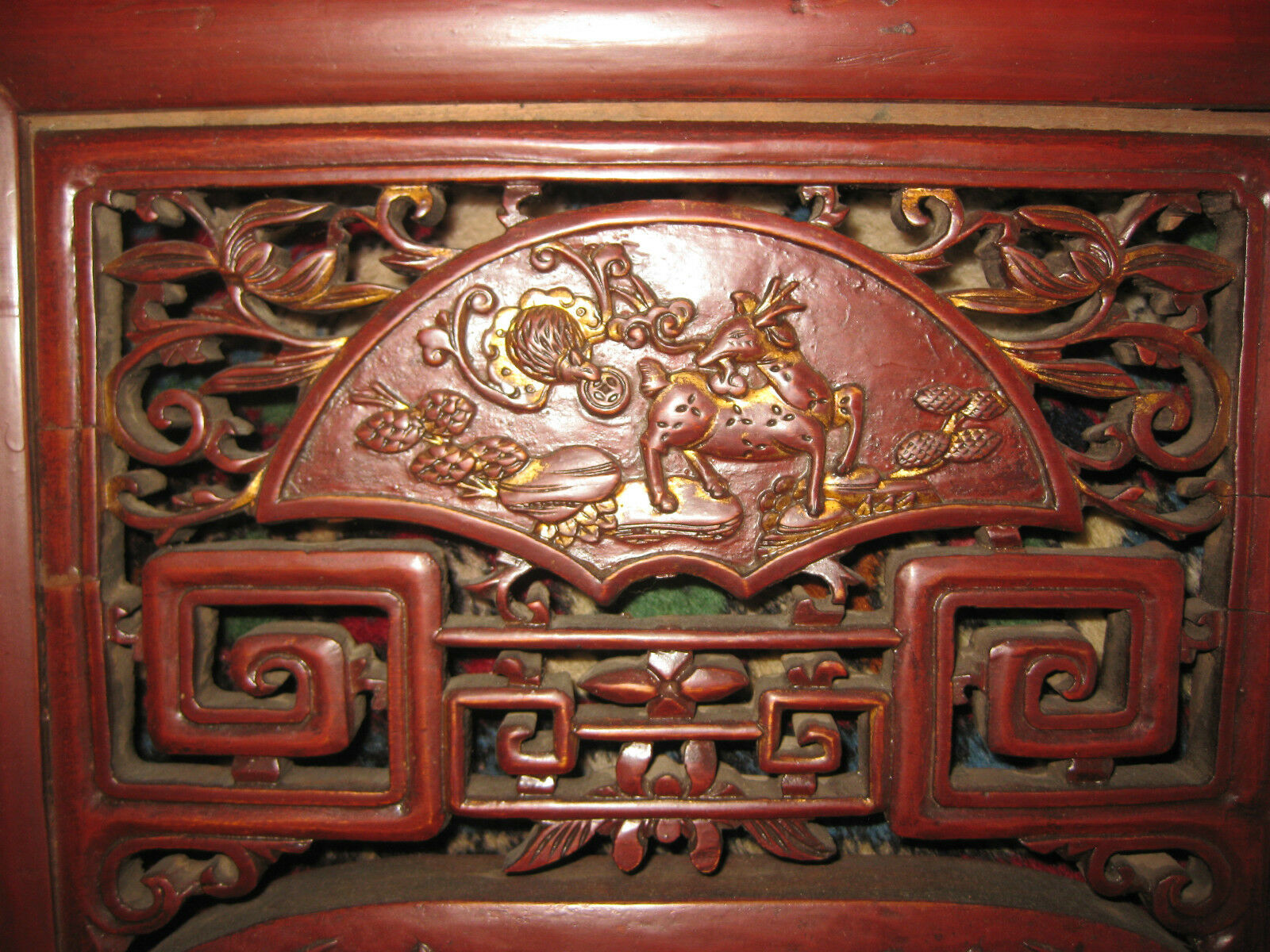 Купить Chinese antique carved wood canope of opium or wedding  bed, Qing dynasty