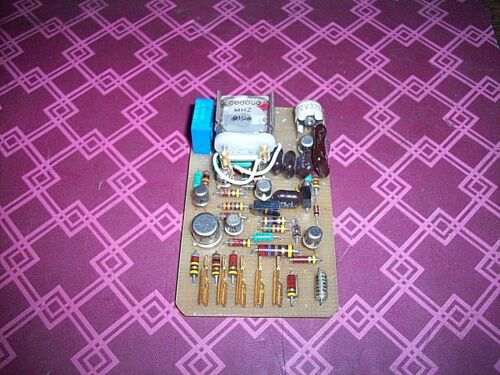 ARC 27  5.000 MHz PRECISION  OSCILLATOR board --shelf--E