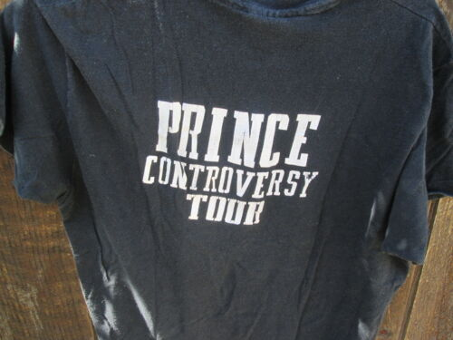 PRINCE Vintage EARLY Original 1982 CONTROVERSY Tour SECURITY Crew T-Shirt