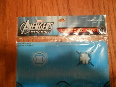 Avengers Table Cover (DISNEY AVENGERS Hallmark Table Covers - 54 by 96 inches -)