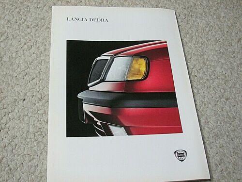 1995 LANCIA DEDRA (ITALY) SALES BROCHURE....