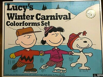 Colorforms Retro Lucy's Winter Carnival New Edition Classic Toy set NIB NEW