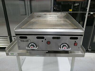 Vulcan 924rx Nat Gas 24 Griddle Thermostatic Controls Steak Fajita Chicken