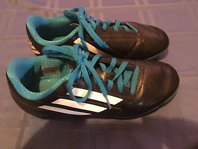aa9f7a12df1 Adidas cleats Boys Girls Size 10.5 baseball softball soccer black sports  shoes