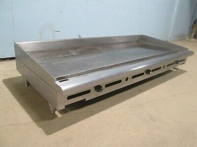 Imperial Itg-72 H.d. Commercial Ss Nsf Counter Top Natural Gas 72 Griddle