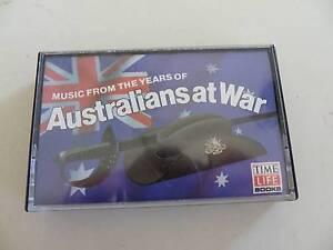 AUSTRALIANS AT WAR AUDIO CASSETTE TAPE Alberton Port Adelaide Area Preview