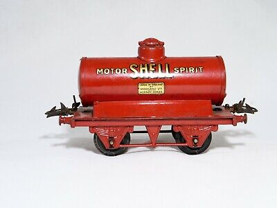 Hornby GB Wagon Tank Shell Motor Spirit Merchandise IN O Old