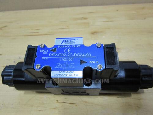 SevenOcean Hydraulic Solenoid Valve DSV-G02-2C-DC24