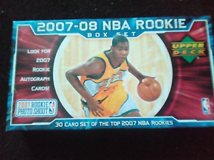 2007-08 NBA Rookie Box Set mint condition Kingston South Canberra Preview
