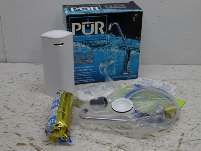 pur water filtration undersink filtration system