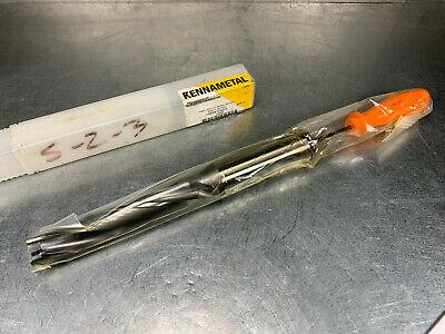 Kennametal .766 Indexable Drill Body 5xd Ksem0766r5ss100 1606885