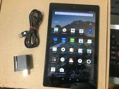 Amazon Kindle Fire HD 10 32GB, Wi-Fi, 10.1inch - Black  7th Generation SL056ZE
