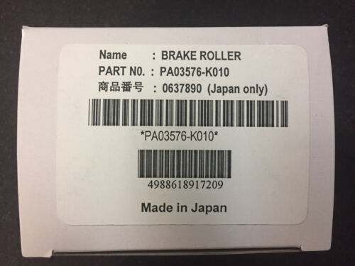 pa03576-k010 brake roller kit for Fujitsu FI-6670/6770 up to 250k sheets