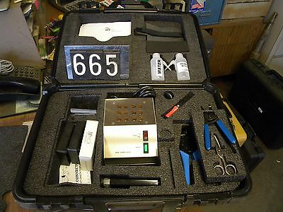 Fitel Fiber Optic Tool Kit With Curing Oven 200a