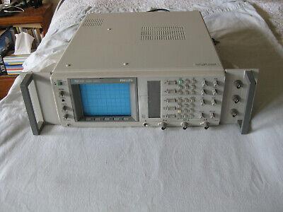 Fluke Philips Pm3337 2 Channel 60 Mhz Rack Mount Oscilloscope