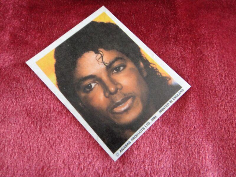 MICHAEL JACKSON STICKER 1984 VINTAGE 80