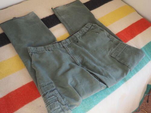 BSA Boy Scouts of America Green Uniform CONVERTIBLE Mens Relaxed PANTS SHORTS 38