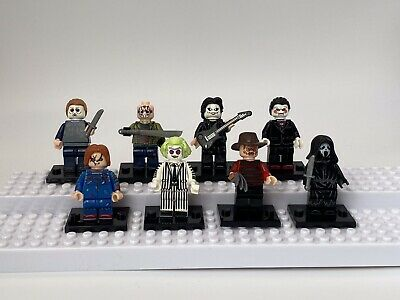 Halloween Horror Movie MiniFigures Set All Included U.K. Fast Next Day Shipment
