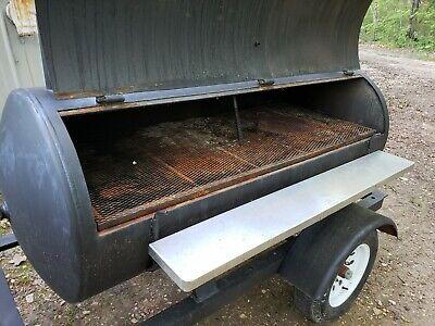 Trailer Smoker Bbq Pit