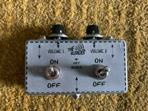 GOB INSTRUMENTS BLENDER + ABY SWITCH Y SPLITTER MIXER GUITAR BASS