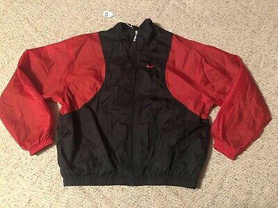 Nike Windbreaker 90s Vtg Jordan Nylon Vented Bulls Colorblock Jacket Large L