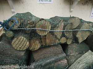 3 LARGE BAGS OF MIXED WOOD LOGS FOR ONLY £11 - BEST SELLER (Brentwood, Essex)