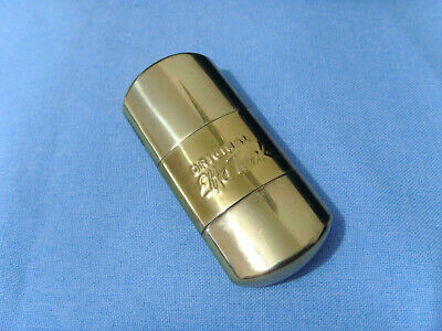 Brass ORIGINAL ELFA TANK Petrol Lighter Vintage NOS Made In GERMANY Feuerzeug