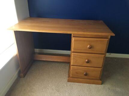 Desk Solid Pine