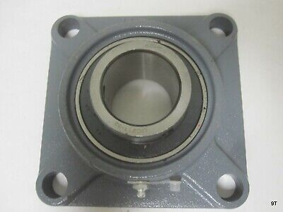 Square Flange Units Cast Iron Mounted Bearing Uc211 32 Fs211 2 In Center Bore