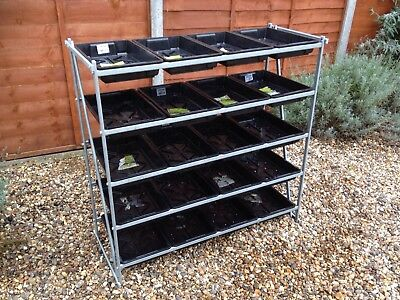 Heavy Duty Greenhouse Staging Racking