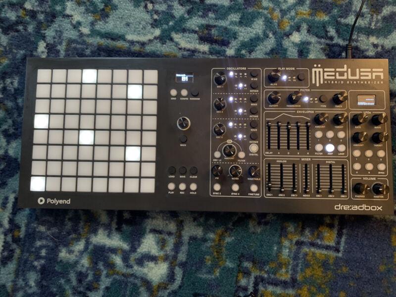 Dreadbox Medusa Polyend Synthesizer - Open Box
