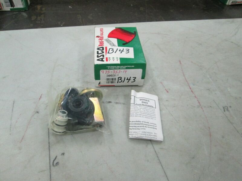 ASCO Solenoid Valve Repair Kit Cat #306314 (NIB)