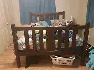 Queen size bed frame and tables Burpengary Caboolture Area Preview