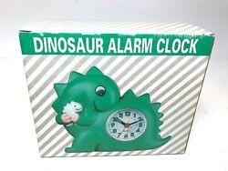 Vintage Taiwan Dinosaur Alarm Clock Quartz