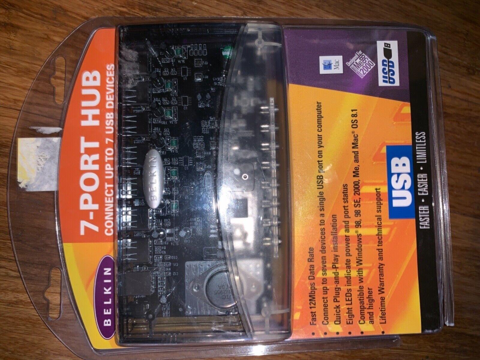 belkin f5u027 usb 7 port hub brand