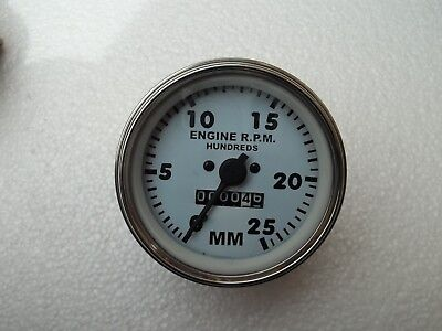 Minneapolis Moline Tractor Tachometer Fits - Early M670 Gasdiesel M5m602m604