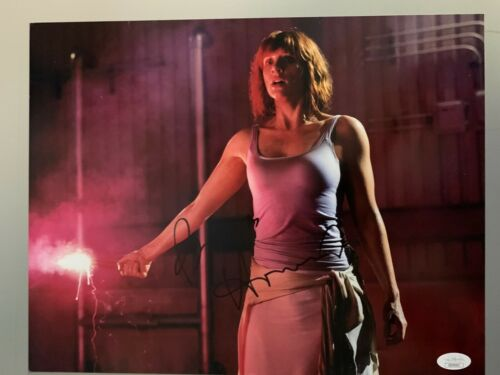 Jurassic Park Bryce Dallas Howard Autographed Signed 11x14 Photo JSA COA