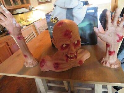 Spirit Halloween Decoration Zombie Ground Breaker Prop W/Box - Groundbreaker Zombie