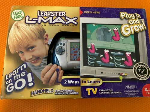 Leap Frog Leapster L-MAX - Learning Game System - New