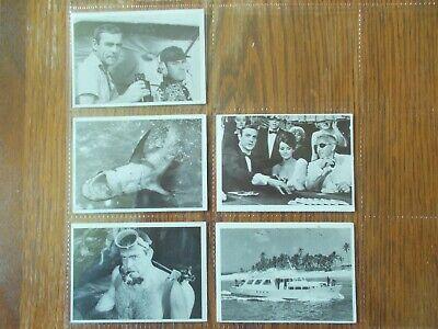 "(5) JAMES BOND CARDS-1965 VINTAGE ""007""   FAIR/EXC."