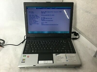 Acer Aspire 3050-1733 AMD Sempron 1.8GHz 512MB RAM Laptop Computer -CZ