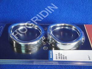 Harley turn signal visors trim ring kit touring flhtc softail flstn ultra flhr