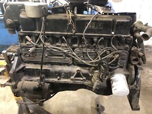 70s Mercury Engine and Motor Leg - Runs