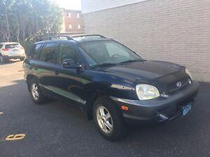 2004 Hyundai Santa Fe GL VUS 2500$