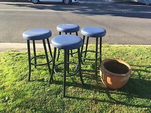 Free stools x 4 Russell Lea Canada Bay Area Preview