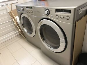 LG Front Loading Washer and Dryer - Sale Pending