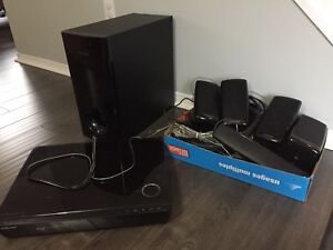 Five Speaker Samsung surround sound system