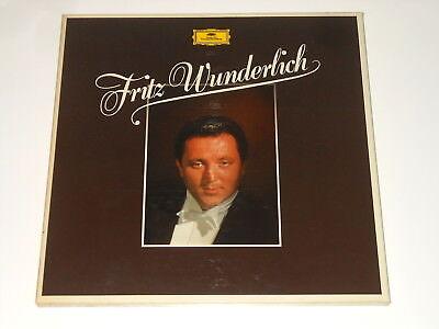 Fritz Wunderlich - 5LP Box - MOZART VERDI ROSSINI -Deutsche Grammophon 413 837-1