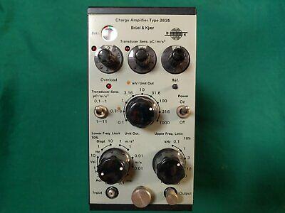 Bruel Kjaer Charge Amplifier Type 2635
